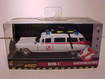 (Ghostbusters 1959 Cadillac Ambulance Ecto-1 Diecast Car 1:32 Jada Toys 5 inch )