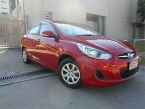 2012 Hyundai Accent RB Active Red 4 Speed Sports Automatic Sedan Southport Gold Coast City Preview