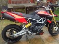 Aprilia Dorsoduro . Very Rare late model 1200, dry use only, F.S.H. lots of extras.2 prev owners.