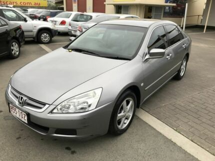 2005 Honda Accord 40 VTi Silver 5 Speed Automatic Sedan Coopers Plains Brisbane South West Preview