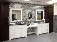salle de bain en bois en promo!!!!!