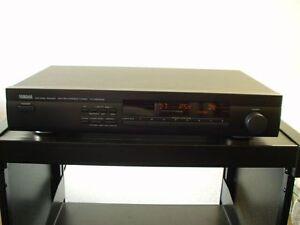 Yamaha-TX-580RDS-sintonizador-estereo-en-negro-Accesorio-12-Meses-De-Garantia