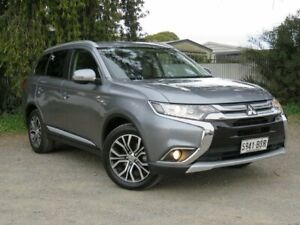 2015 Mitsubishi Outlander ZK MY16 LS 4WD Grey 6 Speed Constant Variable Wagon Morphett Vale Morphett Vale Area Preview