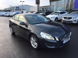 VOLVO S60 2.0 D3 SE LUX, FULL VOLVO HISTORY, 80400 MILES, SAT NAV, LEATHERS, SUNROOF ONLY £5500