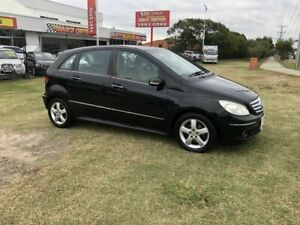 2008 Mercedes-Benz B-Class W245 MY08 B180 CDI Black 7 Speed Constant Variable Hatchback Kippa-ring Redcliffe Area Preview