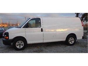 2001 CHEVROLET EXPRESS 2500 ONLY 89,707 KMs. CARGO VAN 3/4 TON