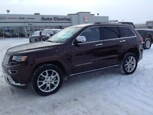 2015 Jeep Grand Cherokee Summit HEMI 4000KM!!
