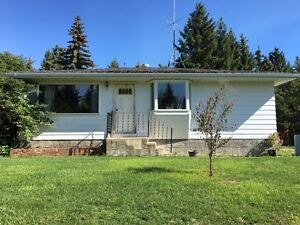 House for rent on beautiful SK acreage