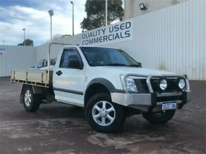 2007 Holden Rodeo RA MY06 Upgrade LX White 5 Speed Manual Cab Chassis East Victoria Park Victoria Park Area Preview