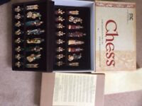 Chess set - Crusades Chess Pieces (hand painted)