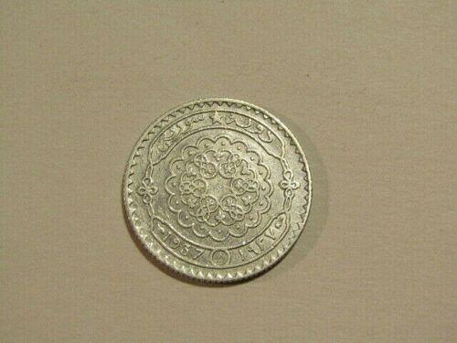 Syria 1937 25 Piastres Silver Coin
