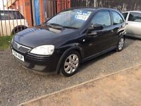 vauxhall corsa, 2004, 1.2 petrol, good condition