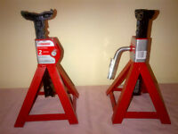 2 Ton Axle Stands (pair)