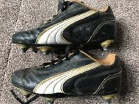 Boys football Boots Puma size 12