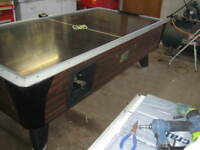 Table air hockey commerciale