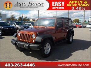2014 JEEP WRANGLER UNLIMITED SPORT LOW KM