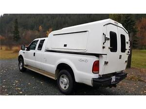 2005 Ford F350 4X4 With CARGOBODY ONLY 142,953 kms! Prince George British Columbia image 6