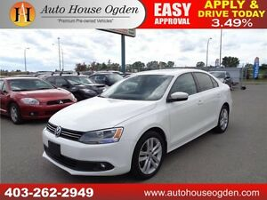 2013 Volkswagen Jetta Highline ,Nav,Roof,Cam 30 days No Payment
