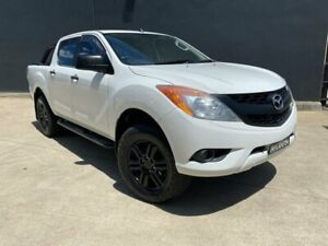 2012 Mazda BT-50 UP0YF1 XT Hi-Rider Utility Dual Cab 4dr Spts Auto 6sp 4x2 12 White Sports Automatic Villawood Bankstown Area Preview