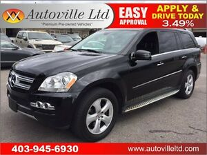 2011 MERCEDES GL450 NAVIGATION BACKUP CAMERA 90 DAYS NO PAYMENTS