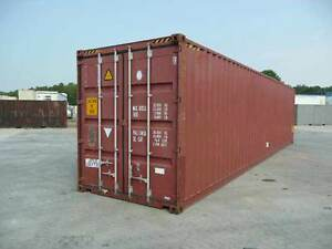 40 Foot Sea can - Delivery included (st.johns)
