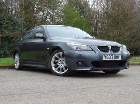 BMW 5 SERIES 2.0 520D M SPORT 4d 161 BHP (grey) 2007