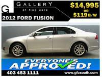 2012 FORD FUSION SEL AWD **EVERYONE APPROVED** $0 DOWN $119/BW!