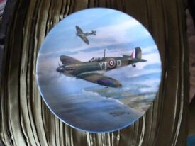 Spitfire 'DAWN PATROL' plate by Royal Doulton Limited edition