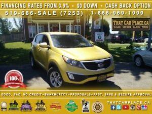 2011 Kia Sportage LX $53/Wk Htd Seats Bluetooth AUX/USB Cruise