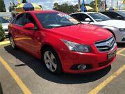 2010 Holden Cruze JG CDX Red 6 Speed Sports Automatic Sedan Minchinbury Blacktown Area Preview