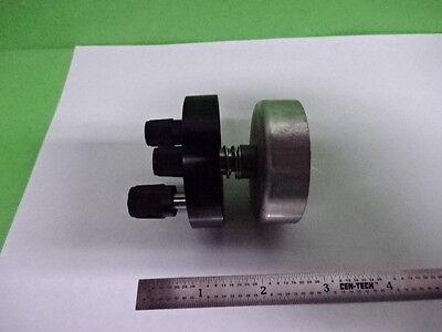 Microscope Part Concave Mirror Illuminator Unknown Maker Optics As Is Ai-47