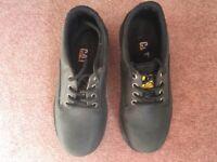 Boy's / Teenage CAT black boots - size 4 - hardly worn