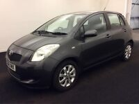 2009 TOYOTA YARIS 1.3 AUTOMATIC VVTI MMT TR ,3 OWNER-FULL SERVICE HISTORY.