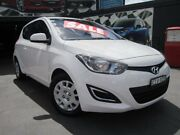 2012 Hyundai i20 PB MY13 Active White 4 Speed Automatic Hatchback Greenacre Bankstown Area Preview