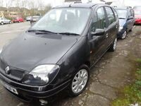 2003 Renault Scenic 1.6 MOT'd Feb good driver Cheap £475