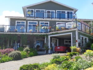 OCEANVIEW EXECUTIVE HOME COWICHAN VALLEY SNOWBIRD 4 MONTH RENTAL