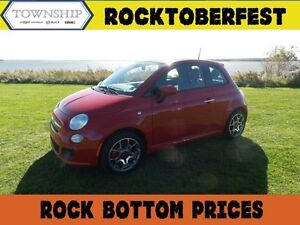 2015 FIAT 500 Sport - Automatic - Air Conditioning - Power Optio