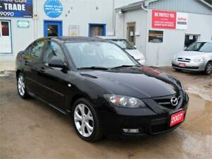 2007 Mazda Mazda3 GT|ONE OWNER|NO ACCIDENTS| NO RUST|