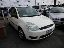 2004 Ford Fiesta LX White 5 Speed Manual Hatchback Victoria Park Victoria Park Area Preview