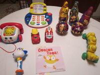 8 jouets d'éveil, de motricité pour bébé 0 à 3 ans City of Montréal Greater Montréal Preview