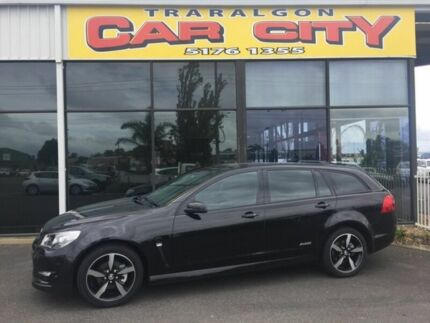 2016 Holden Commodore SV6 STORM Black 6 Speed Semi Auto Sportswagon Traralgon Latrobe Valley Preview