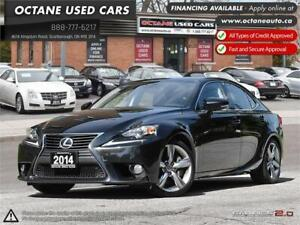 2014 Lexus IS 350 Accident Free - One Owner!