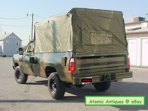 1977 dodge truck 1977 77 78 mopar dodge truck m880 power wagon cucv military cargo cover 85 tarp