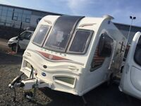 Used 3 times £2000 Off 24M Warranty - Bailey Unicorn Seville OVS 2 Berth. Mint. @ Tricam Caravans.