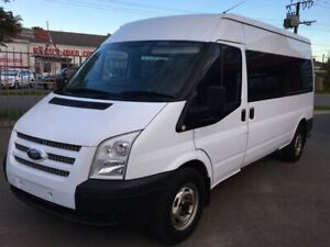 2012 Ford Transit MiniBus VM 155 T350 White Manual Woodville Charles Sturt Area Preview