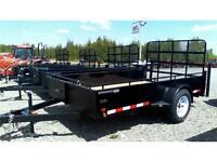 Utility Trailer -Canada trailer 4x8 Utility w Ramp & 3500lb Axle