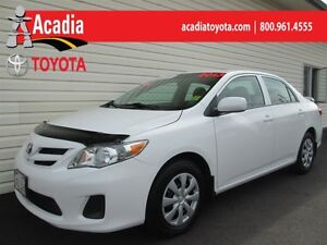 2013 Toyota Corolla CE Moonroof Package! Heated Seats, Bluetooth