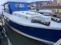 Ex RAF Launch Houseboat - Lady Sandfire