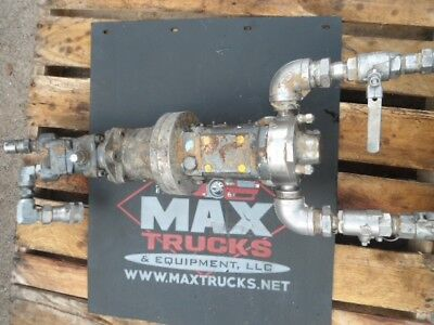 Waukesha Cherry Burrel 006-u1 Positive Displacement Pump
