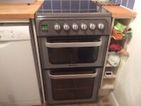 Hotpoint 50cm wide electric cooker